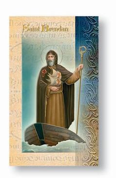 St. Brendan Biography Card