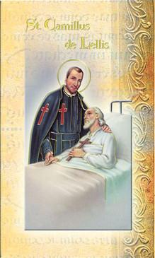 St. Camillus of Lellis Biography Card
