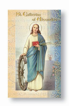 St. Catherine of Alexandria Biography Card