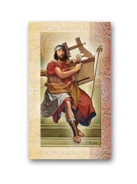 St. David Biography Card