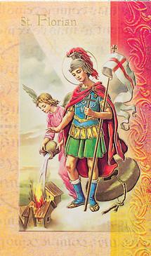 St. Florian Biography Card