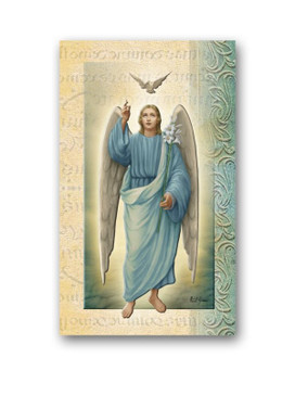 St. Gabriel Biography Card