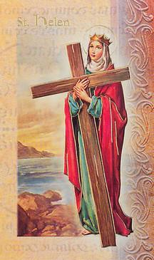 St. Helen Biography Card