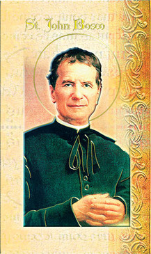 St. John Bosco Biography Card