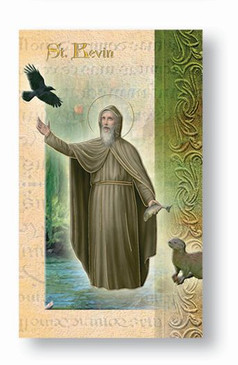 St. Kevin Biography Card