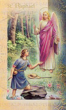 St. Raphael the Archangel Biography Card
