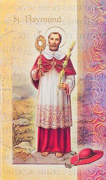 St. Raymond Biography Card