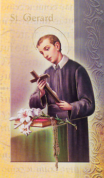 St. Gerard Biography Card