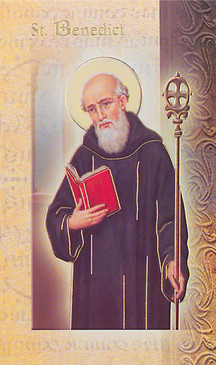 St. Benedict Biography Card