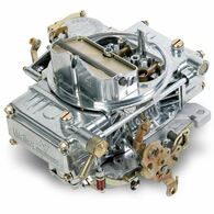 HOLLEY Classic Polished 600CFM 4bbl Carburettor Vacuum Secondries