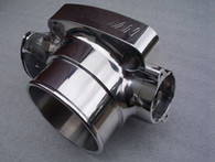 PLAZMAMAN 66mm Billet XF/EA Throttle body