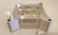 """TLG Racer Series 4150 Tapered Carb Spacer 2"""" High RAW"""
