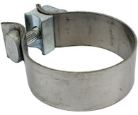 """PROFLOW Exhaust Clamp Stainless Steel 2.5"""""""