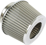 """PROFLOW 2.5"""" Inlet Pod Filter 100mm High STAINLESS"""