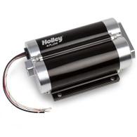 HOLLEY 130GPH Dominator In-Line Billet Fuel Pump Dual Inlet