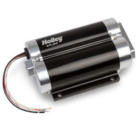 HOLLEY 200GPH Dominator In-Line Billet Fuel Pump Dual Inlet
