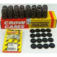CROW CAMS Ford Cleveland V8 Spring / Retainer Kit (Single Groove Valve Only)