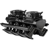 PROFLOW GM LS1/2/6 EFI Twin Throttle Body Style Intake Manifold