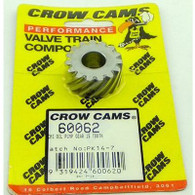 CROW CAMS Valiant 265 Treated Cast Iron Oil Pump/Distributor Gear - 15 Tooth