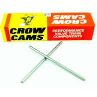 "CROW CAMS Standard Replacement Pushrods 5/16"" Diameter .080'' Wall 8.00''- 8.475"" Length"