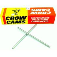"CROW CAMS Superduty Pushrods (1 Piece 0.080'' Wall Heat Treated High Carbon Steel) 9.000''- 9.450"" Length"