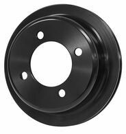 PROFLOW Ford 302-351 Cleveland Crank Pulley - BLACK