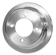 PROFLOW Ford 302-351 Cleveland Crank Pulley - SILVER