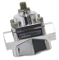 "AEROFLOW Billet 2-Port Fuel Pressure Regulator with 3/8"" NPT Ports - CARB 4.5-9psi POLISHED"