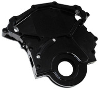 AEROFLOW Billet Aluminium Timing Cover - Black Finish - 253-304-308