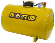 AEROFLOW 10 Gallon Steel Portable Air Tank - Yellow (125 PSI Max)