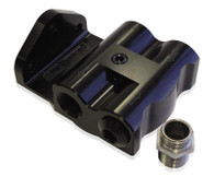 AEROFLOW Billet Remote Oil Filter Head - Style 1