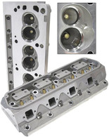 AEROFLOW Aluminium Cylinder Heads, 175cc Runner with 60cc Chamber BARE - Suit Ford 289-302W