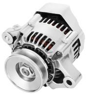 PROFLOW Universal Mini Style 80A Internal Regulator One Wire Alternator - CHROME
