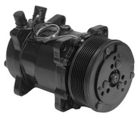 PROFLOW A/C Compressor Serpentine Pulley - BLACK