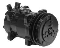 PROFLOW A/C Compressor V-Belt Pulley - BLACK