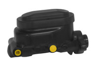 "PROFLOW Master Cylinder Smooth Raised Top Alloy 1"" Bore suit GM - Black"