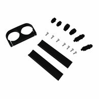 TLG Dual Billet Fuel Pump Bracket Kit - BLACK