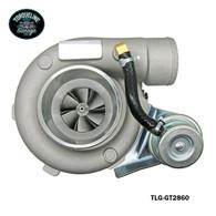 TLG GT2860 Turbocharger - .60AR Front, .64AR Rear INTERNAL WASTEGATE