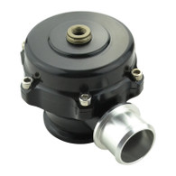 TLG 50mm Plumb-Back Blow Off Valve with Weld-on Flange & V-Band - BLACK