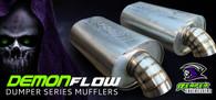 """REAPER Demonflow Dumper Muffler - Stainless Steel 4"""""""