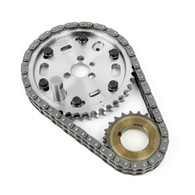 TLG Billet Steel Vernier Timing Chain set - Chevrolet Small-Block
