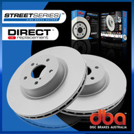 DBA Street Series Front Rotor - Holden VY-VZ V6 and V8 2003-07 DBA2050 UTE/WAGON ONLY