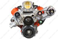 ICT LS1/LS2 Heavy Duty Billet Alternator Bracket Kit - Top Driver Head Mount