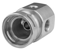 PROFLOW Bosch Fuel Pressure Regulator Adaptor - Silver