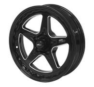 STREET PRO II Ford 5x114.3 - 17x4.5  / 1.75' Back Space Black Wheel