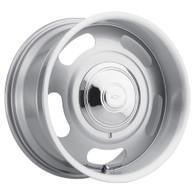 "AMERICAN LEGEND Cruiser Silver wheel - 17x7 with 4-1/4"" Backspace GM"