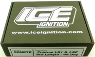 ICE IGNITION Performance Lead set - GM LS1 - 9mm Right angle plug boot
