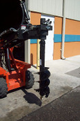 "Skid Steer 12"" Auger Bit, Fits all 2.5"" Round Auger Drives, Brand New McMillen"