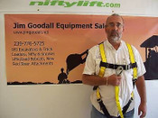 Boom Lift Safety Harness with Landyard,OSHA Requirement For Any Lift, Free Ship