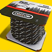 """Oregon 91PX 100 Ft Roll Chains Fits Small Stihl,Echo,Poulan,Husky,Red Max,3/8"""""""